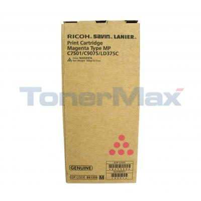 RICOH TYPE MP C7501/C9075/LD375C PRINT CTG MAGENTA